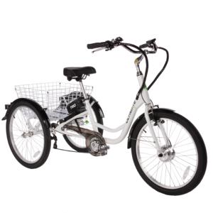 A közkedvelt, háromkerekű ULTIMATE Trio e-bike megkönnyíti az életed. Legnagyobb előnye, hogy nagyon stabil, így egyensúly- vagy egészségügyi problémákkal küzdőknek, is kiváló társa lehet.